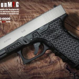 Glock 19 Laser Stippling T1 Pattern