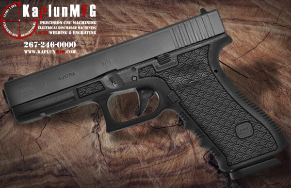 Glock 17 T11 Laser Stippling