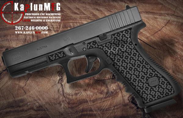Glock 17 T14 Laser Stippling
