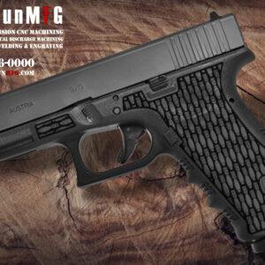 Glock 17 T22 Laser Stippling