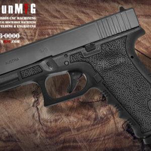 Glock 17 T24 Laser Stippling