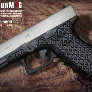 Glock 19 Laser Stippling T14