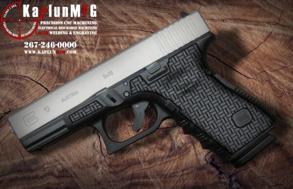 Glock 19 Laser Stippling T18