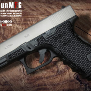 Glock 19 Laser Stippling T6