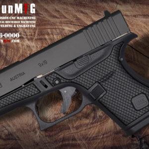 Glock 43 Laser Stippling Pattern T13
