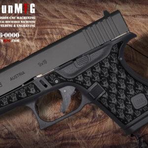 Glock 43 Laser Stippling Pattern T16